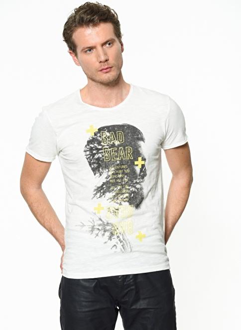 Bad Bear Tişört Bej